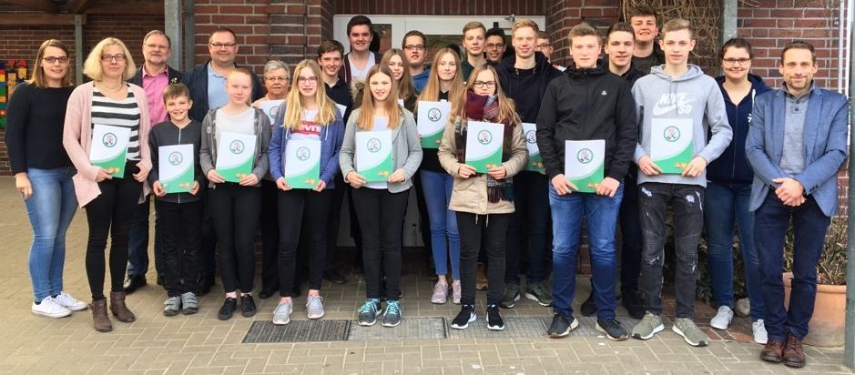Erfolgreiche D1-Prüfung in Langen-Gersten/Vinnen