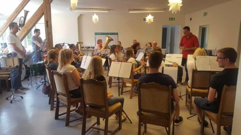 Dirigenten-Seminar ein voller Erfolg