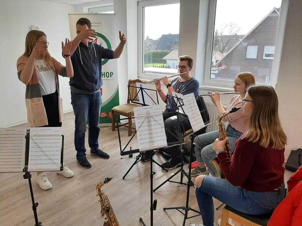 Bilder vom Dirigentenseminar für Anfänger