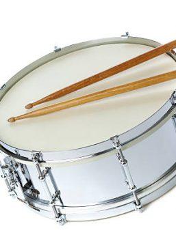 Schlagzeug Ausbilder im Spielmannszug